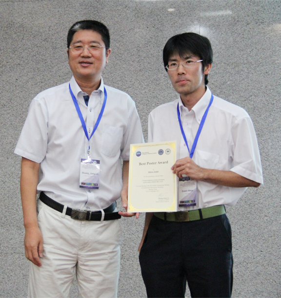 遠藤 力也 協力研究員が、Asian Network of Research Resource Centers(ANRRC)Best Poster Awardを受賞